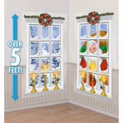 Frosted Window Scene Setters 65in 2ct