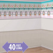 Fifties Soda Shop Room Roll 40ft
