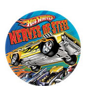 Hot Wheels Fast Action Dessert Plates 8ct