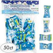 Boy 1st Birthday Pillow Mints 50ct