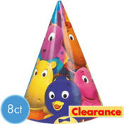 The Backyardigans Party Hats 8ct