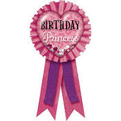 Birthday Princess Confetti Pouch Ribbon