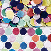 Festive Party Dot Paper Confetti 2oz