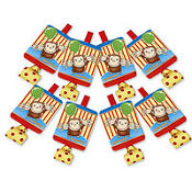 Curious George Blowouts 8ct