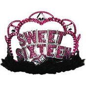 Sweet 16 Sparkle Tiara