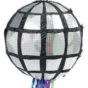 Pull String Disco Ball Pinata