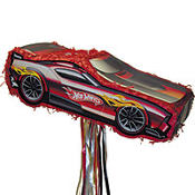 Pull String Hot Wheels Pinata 18in