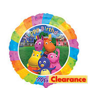 Foil Backyardigans Balloon 18in
