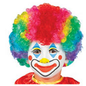 Child Clown Wig