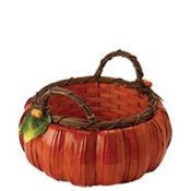 Medium Pumpkin Basket 8in