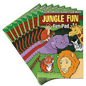 Jungle Animal Fun Pads 8ct