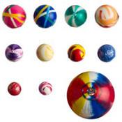 Multi Size Bounce Balls 48ct