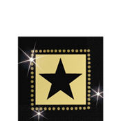 Star Attraction Beverage Napkins 16ct