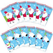 Jolly St. Nick Notepads 12ct