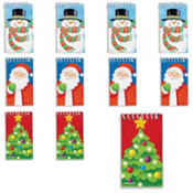 Christmas Notepads 30ct 17¢ per piece!
