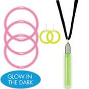 Glow Stick Party Jewelry Set 6pc