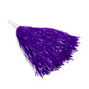 Purple Pom Pom 15in