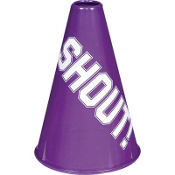Purple Megaphone 8 1/4in