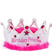 Princess Birthday Cake Party Hat