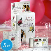 Disposable Wedding Cameras 5ct