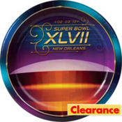Super Bowl Dinner Plates 16ct
