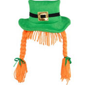 St. Patricks Day Leprechaun Headband