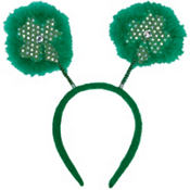 St. Patricks Day Clover Head Bopper 10in 1/4in