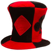 Ace High Top Hat 9in