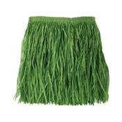 Adult Large Green Mini Hula Skirt