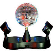Mirror Ball Instant Party Light 9in
