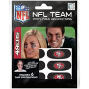 San Francisco 49ers Eye Black