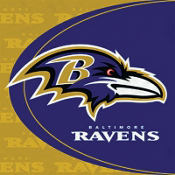 Baltimore Ravens Lunch Napkins 16ct