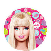 Foil Barbie Balloon 18in