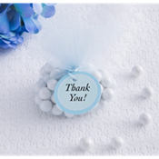 Blue Baby Shower Favor Tags 24ct