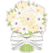 Bridal Bouquet Bridal Shower Invitations 8ct