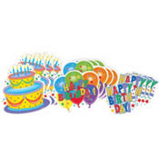 Birthday Cutouts Value Pack 12ct