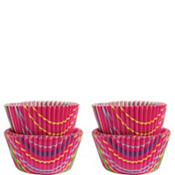 Snappy Stripes Mini Baking Cups 75ct