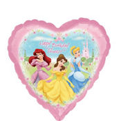 Foil Garden Disney Princess Birthday Balloon 18in