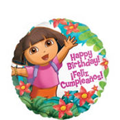 Foil Dora the Explorer Birthday Balloon 18in