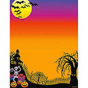 Haunted Hill Halloween Printable Invitations 25ct