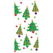 Contemporary Tree Large Party Bags 11 1/2in x 5in 20ct