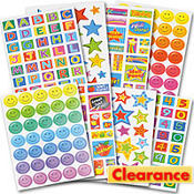 Teacher Super Stickers Value Pack 4 Sheets