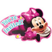 Minnie Mouse Invitations 8ct