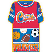 Little Champs Thank You Notes 8ct