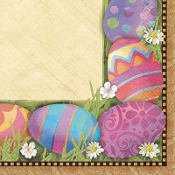 Easter Elegance Beverage Napkins 16ct