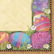 Easter Elegance Beverage Napkins 16ct