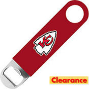 Kansas City Chiefs Bottle Opener