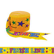 Finish Line Crepe Streamer 42ft
