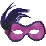 Purple Ballroom Masquerade Mask