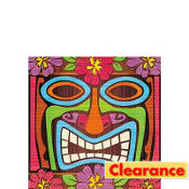 Tiki Time Beverage Napkins 16ct